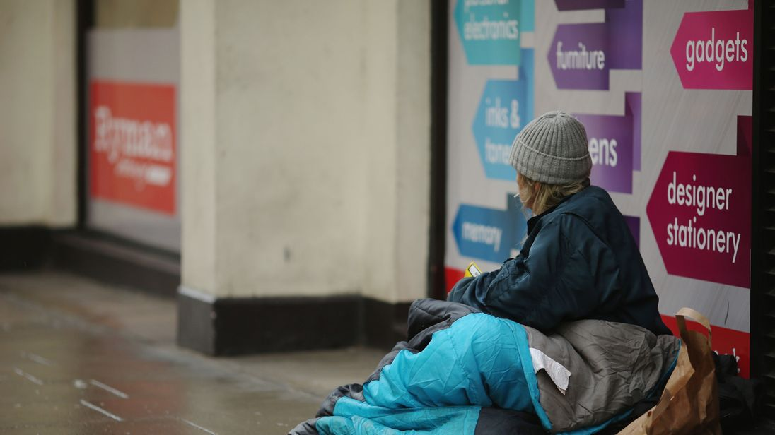Homeless Figures In London Double In Past Six Years According To Charities