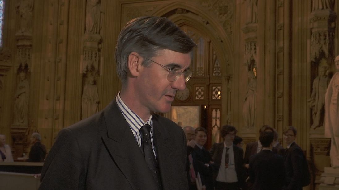 Conservative Jacob Rees Mogg comments on the progress of Brexit negotiations