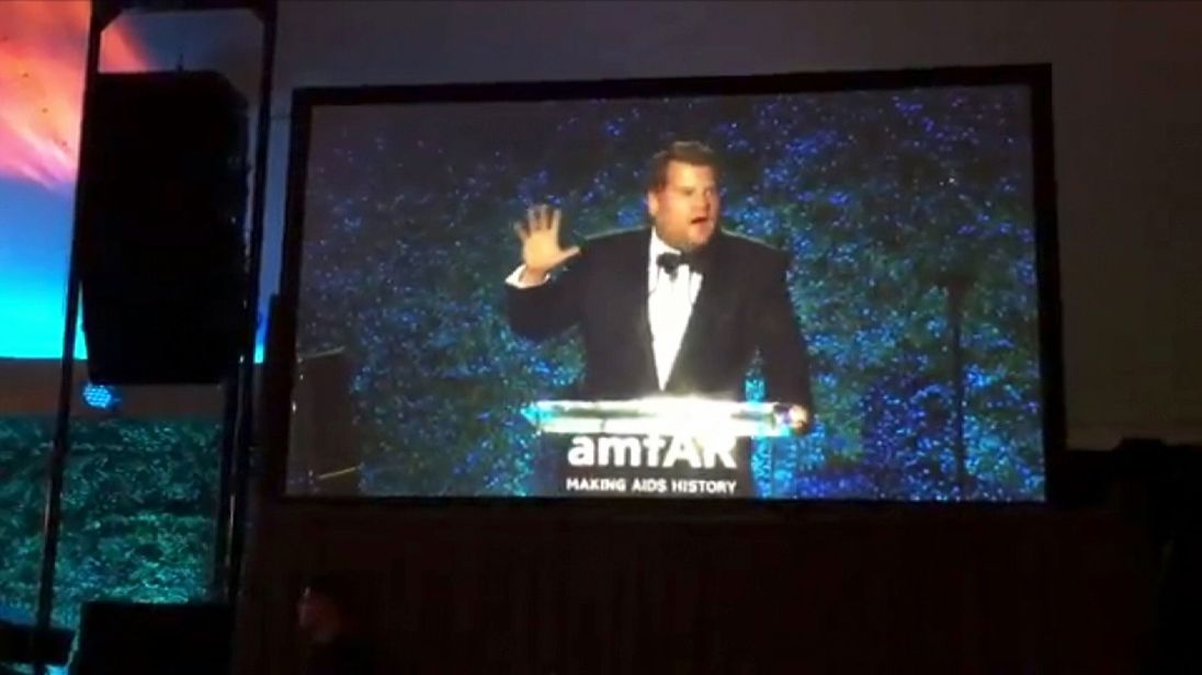James Corden faces a backlash over jokes he made about Harvey Weinstein at a Hollywood charity event