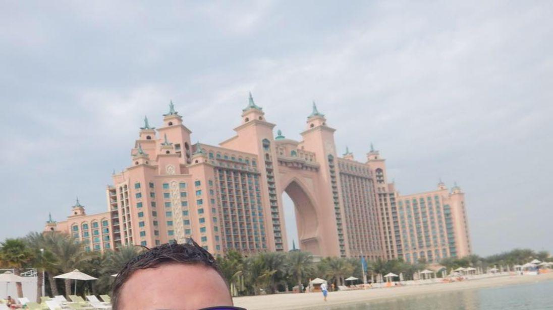 Scot facing jail over Dubai 'hip touch'