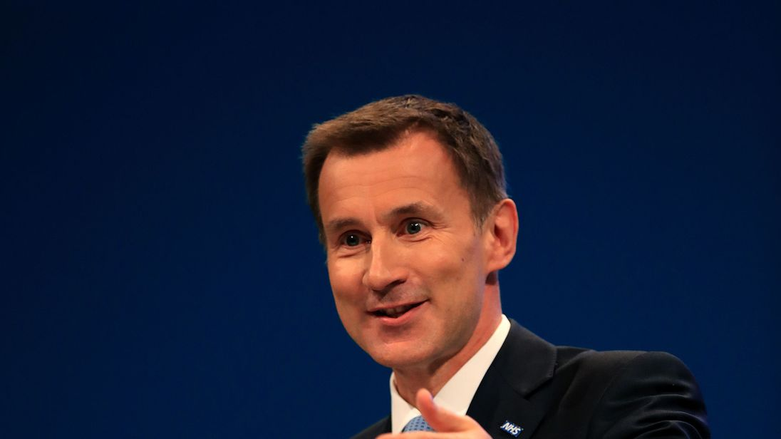 Jeremy Hunt to announce 14500 nursing apprenticeship places by 2019