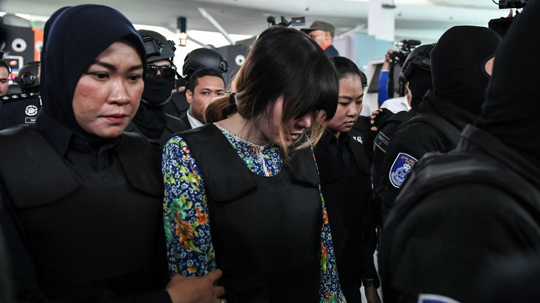 Kim Jong-nam murder: Suspects taken to crime scene at KLIA2