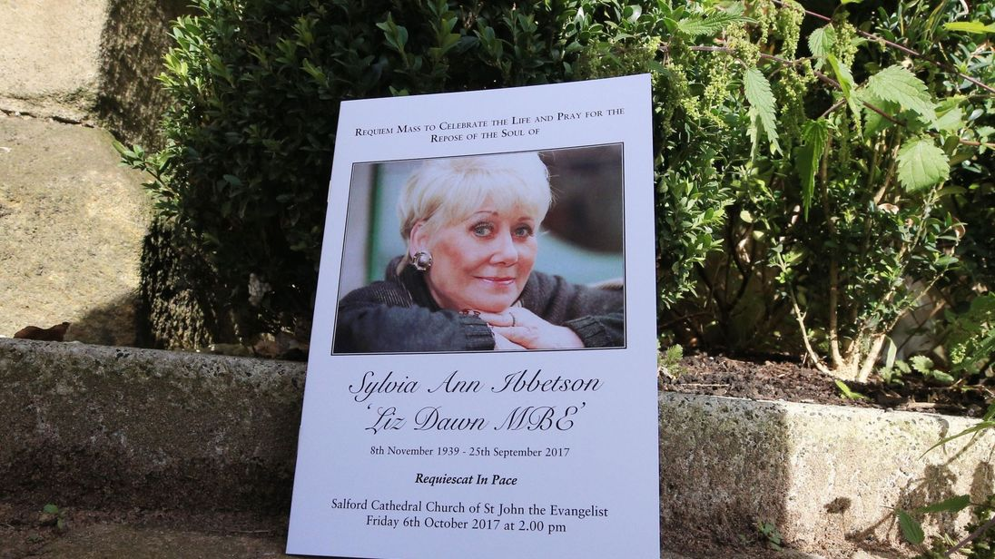 Liz Dawn played the role of Vera Duckworth on Coronation Street for 34 years