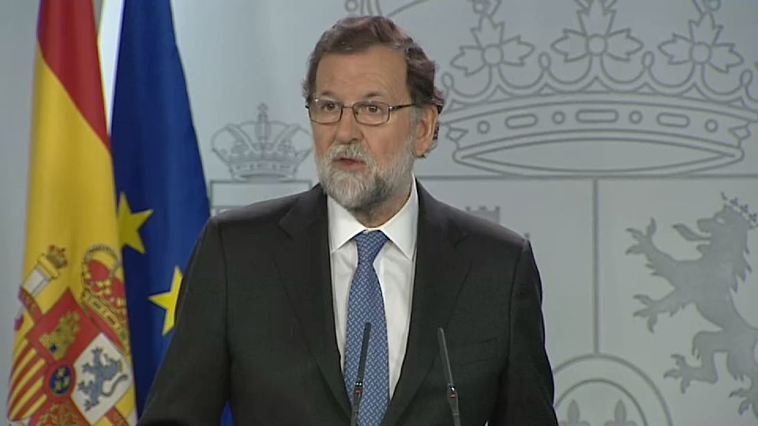 Spanish Prime Minister responds to Catalan MPs' vote to approve independence