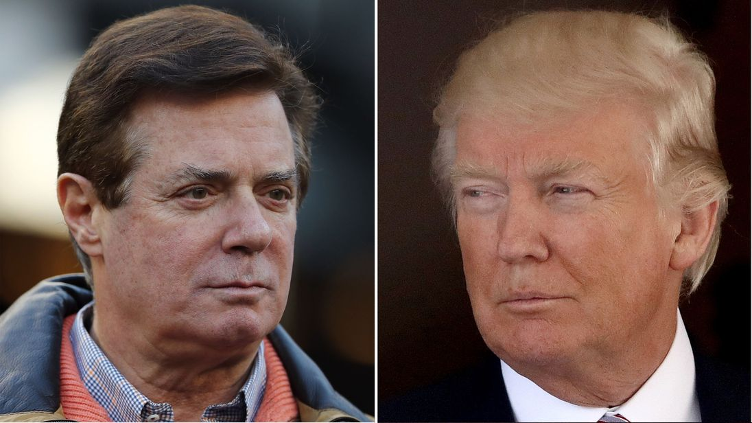 Former Trump campaign chief Paul Manafort has pleaded not guilty to 12 charges
