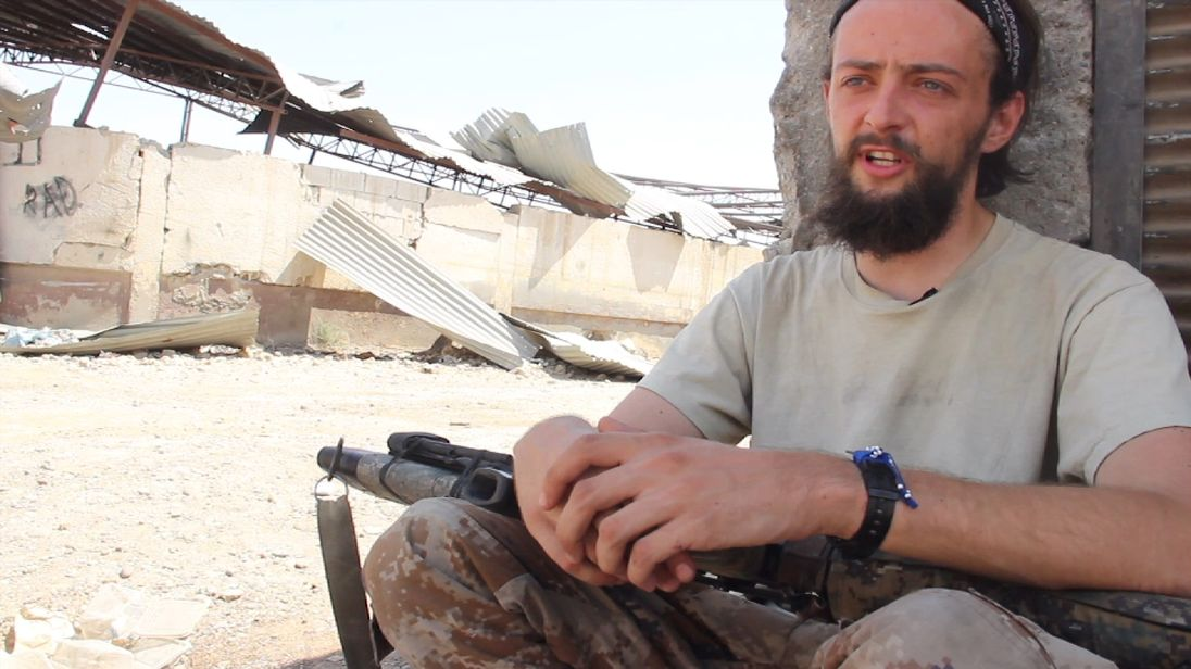 British man Jac Holmes has been killed fighting IS in Syria