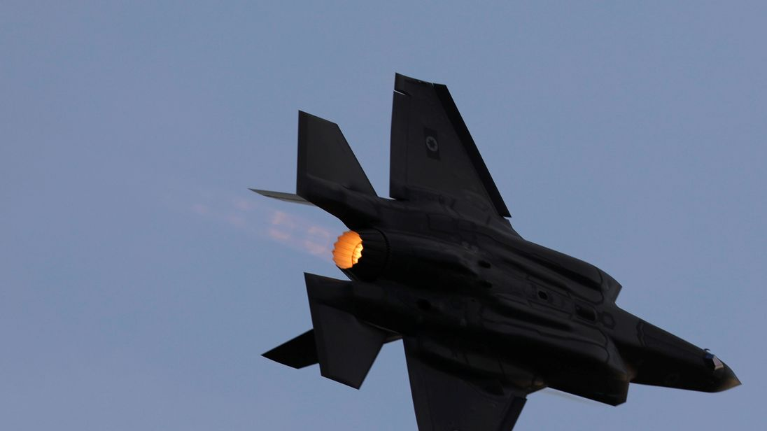 The hack included commercial information about F-35 fighter jets