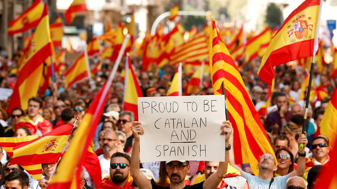 The message was clear - let's stay in Spain