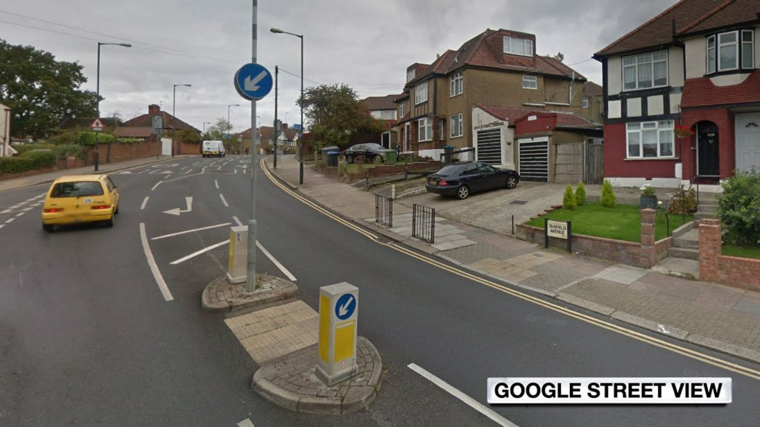 An 18-year-old was stabbed to death in Tanfield Avenue, Neasden