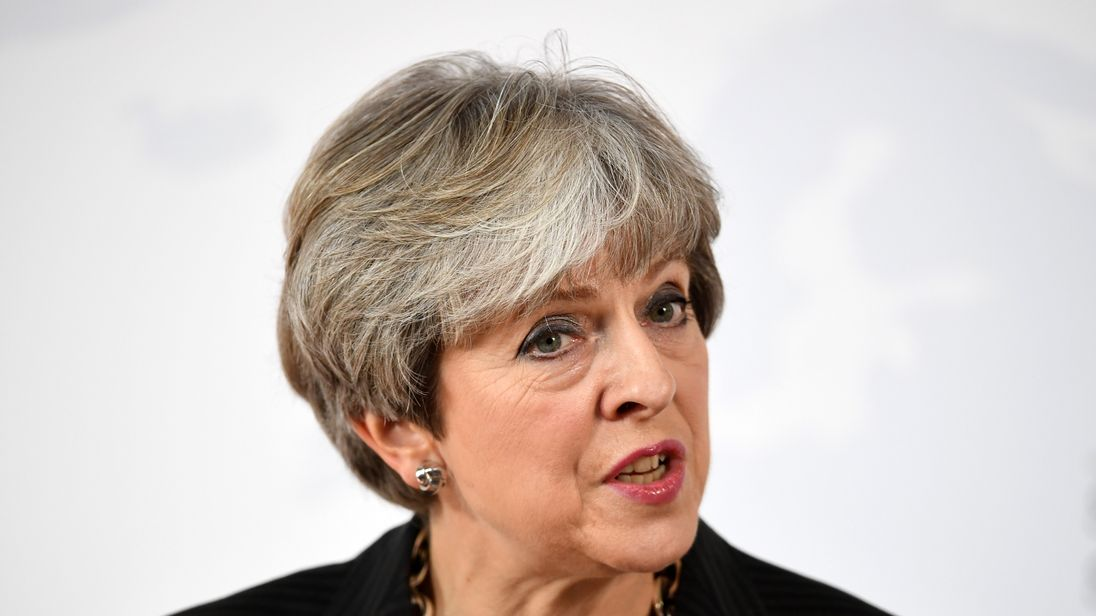 May admits Tories weren't ready for the snap election she called