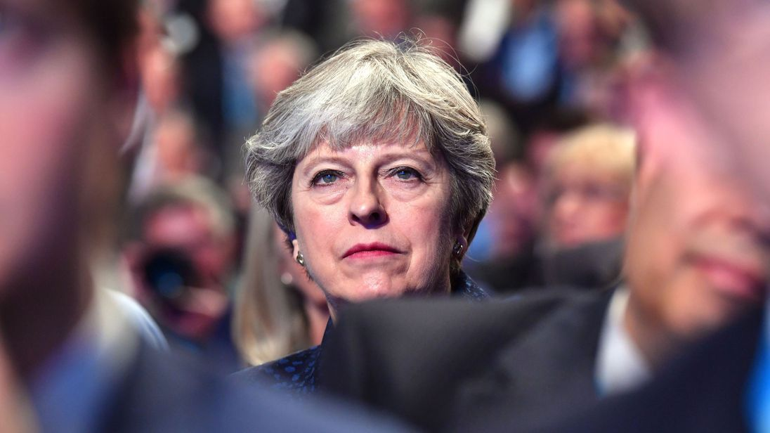 Theresa May is facing a new battle to survive after her disastrous conference speech
