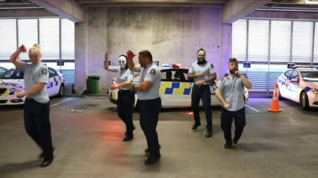 The Wellington District Police have won awards for their dance routines