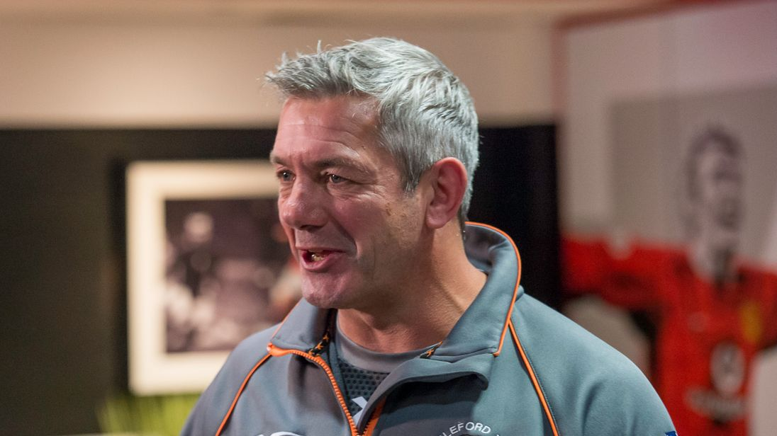 Daryl Powell at the Grand Final press conference
