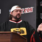 NEW YORK, NY - OCTOBER 07: Kevin Smith hosts IMDb LIVE at NY Comic-Con at Javits Center on Oct 7, 2017 in New York City. (Photo by Bryan Bedder/Getty Images for IMDb.com)