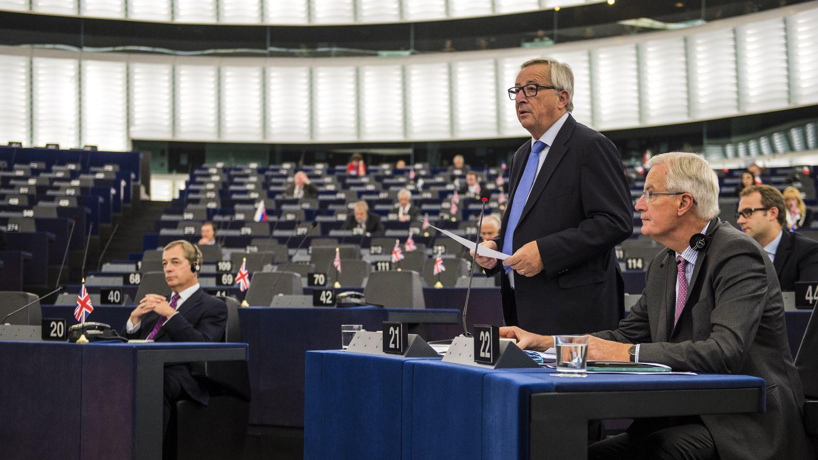 EU Parliament votes for delay in Brexit talks due to lack ...