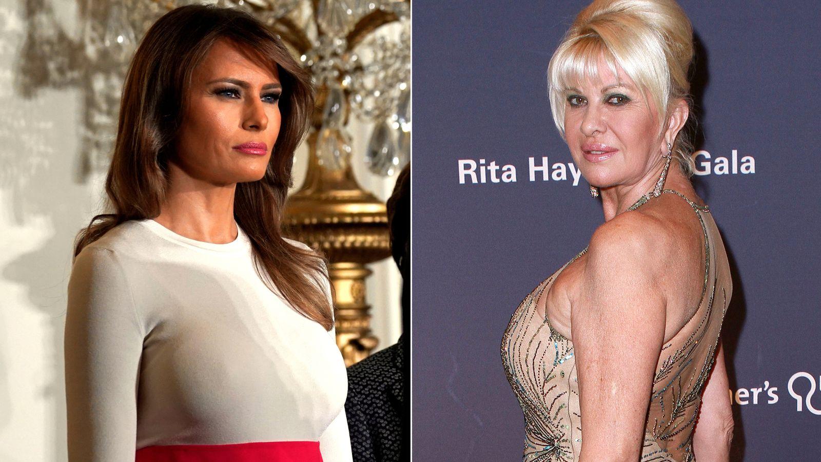 Trumps eks-kone rangerer Melania ved at sige jeg er første dame-8119
