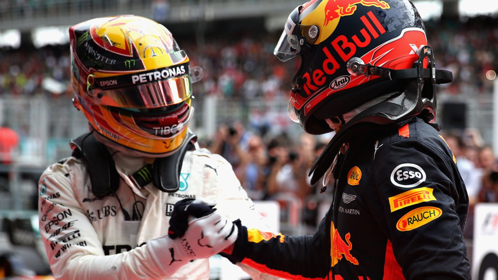 Malaysia GP: Max Verstappen beats Lewis Hamilton ...