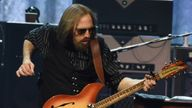 Tom Petty of Tom Petty and the Heartbreakers performs during their 40th Anniversary Tour at Bridgestone Arena on April 25, 2017 in Nashville, Tennessee