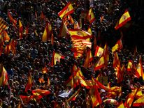 The rally was called to support Spanish unity
