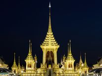 The Royal Crematorium site for the late King in Bangkok