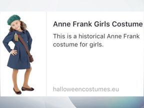 Anne Frank costume