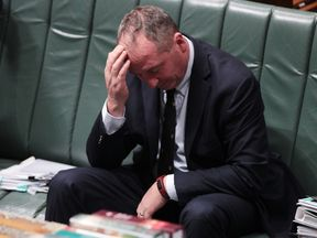The future of Australia's deputy PM, Barnaby Joyce, hands in the balance