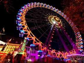 Six people were hurt in two accidents at the Basel Autumn Fair. Pic: www.basel.com