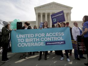 The American Civil Liberties Union says it will sue the US government over the birth control ruling