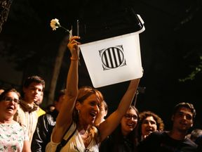The vote went ahead despite a ruling made by Spain's constitutional court