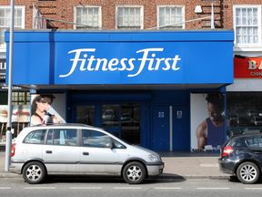 A Fitness First gym in Purley, Surrey 18/3/2012