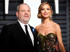 Harvey Weinstein and his wife Georgina Chapman