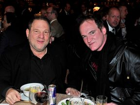 Harvey Weinstein and Quentin Tarantino in 2013