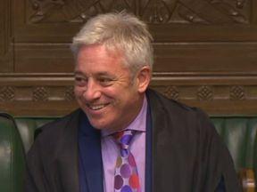 John Bercow Pic: Parliament.TV