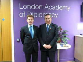 Professor Josephy Mifsud. Pic: Russian Embassy in London