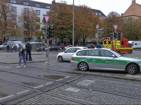 The attack happened in the Rosenheimer Platz area of the city