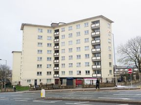 Newcastle House in Bradford, where the 'extremely traumatic incident'