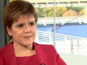 Nicola Sturgeon suggested a second Brexit referendum could be on the cards