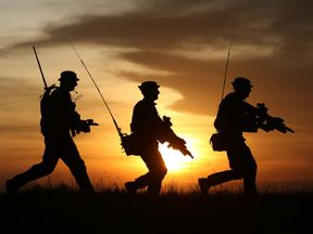 File photo dated 16/02/15 of British soldiers on patrol