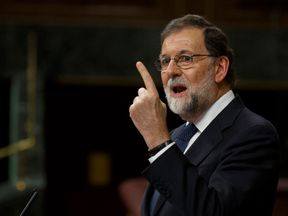 Spanish PM Mariano Rajoy has demanded clarity over Catalonia's independence declaration