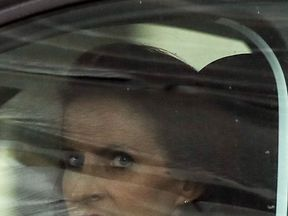 Victoria Cilliers leaving Winchester Crown Court after giving evidence