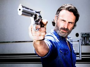 Andrew Lincoln as Rick Grimes..- The Walking Dead _ Season 8, Gallery - Photo Credit: Alan Clarke/AMC