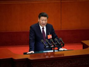 President Xi acknowledged tough economic challenges ahead