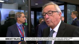 Jean-Claude Juncker says he still believes a Brexit deal will be done