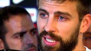 FC Barcelona star Gerard Pique says he may stop playing for Spain as the controversy over Catalonia's referendum grows.