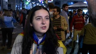 Catalan attitude to independence is positive on the streets