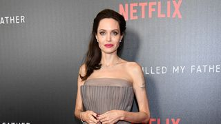 NEW YORK, NY - SEPTEMBER 14: Angelina Jolie attends the 'First They Killed My Father' New York premiere at DGA Theater on September 14, 2017 in New York City. (Photo by Dia Dipasupil/Getty Images)