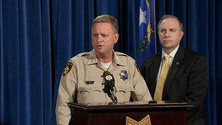 Clark County Undersheriff Kevin McMahill gives an update on the investigation into the mass shooting in Las Vegas