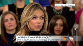 Former news anchor Lauren Sivan describes alleged sexual misconduct by Harvey Weinstein