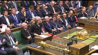 Theresa May gives a statement on the progress of Brexit to the House of Commons