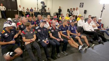 Inside the US GP drivers' briefing
